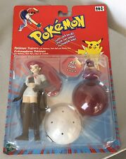 VINTAGE#Pokemon Jesse Figure Team Rocket Series 1 NINTENDO HASBRO#MOSC