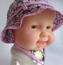 UV Schutz Sterntaler KU41 42 43 44 45 BINDEN Sonnen Hut Sommer Baby Mädchen rosa