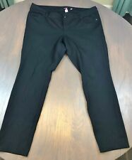 Torrid black stretchy black pants (not jean) 18