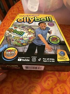 Lot Of 2 Ollyball The Ultimate Indoor Play Ball Color On Ball Brand New