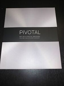 Pivotal Set Of 4 Make Up Brushes New With Box