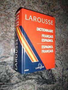 dictionnaire larousse français espagnol bon etat