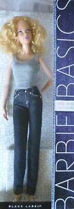 Barbie Basics Blonde Steffie lip 002 /2 No.03 3 Jeans T7741 Model Muse Doll NRFB