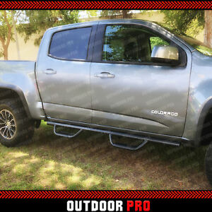 Duratrek PNC Side Step Bars Textured Black for Colorado//Canyon Extended Cab 2015-2020