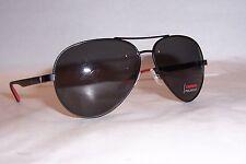 NEW Carrera Sunglasses 8010/S 003-M9 BLACK/GRAY POLARIZED AUTHENTIC