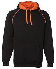 Mens quality constrast hoodie fashion size Small to 2XL, hoody sweatshirt jumper