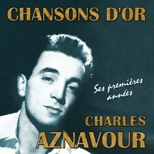 CD French songs : Charles Aznavour - his early years / Import