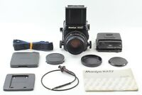 [NEAR MINT+3] Mamiya RZ67 Pro + Sekor Z 110mm 2.8 W 120 Film Back from Japan K26