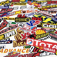 (80) Random Stickers Motocross Motorcycle Car ATV Racing Bike Helmet Decal
