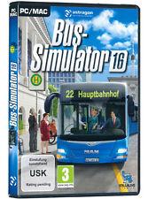 PC Computer Spiel ***** Bus-Simulator 16 * 2016 **********************NEU*NEW