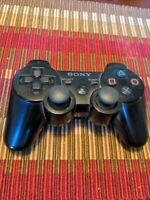 Genuine OEM PS3 Sixaxis Wireless Black Controller PlayStation 3