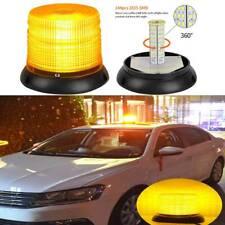 LED Emergency Warning Strobe Light Amber Rotating Beacon Lamp Forklift Truck