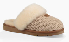 NIB UGG Women's Cozy Knit Slippers in Cream