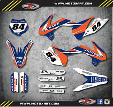 KTM 85 SX- 2013 - 2017 Full Custom Graphic Kit - FORCE STYLE decals / stickers