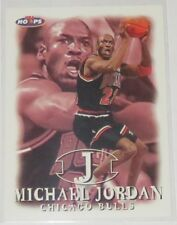 1998/99 Michael Jordan Chicago Bulls NBA Basketball Hoops/Skybox Card #23 NM