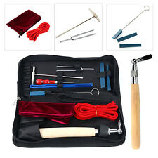 10PCS Piano Tuning Hammer Mute Wrench Handle Kit Professional Tools Case Storage