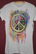 original HARD ROCK CAFE T-Shirt *Damen* Gr. M *NEU* Peace Hippie - mit Etikett
