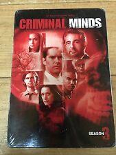 NEW SEALED Criminal Minds - The Complete Third Season (DVD, 2008, 5-Disc Set)