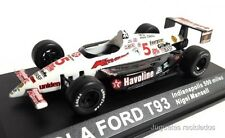 1/43 LOLA FORD T93 NIGEL MANSELL INDIANAPOLIS 500 MILES IXO ALTAYA DIECAST