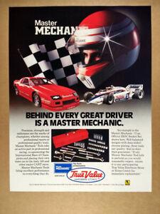 1985 Camaro Z28 IROC & Indy Car photo True Value Hardware vintage print Ad