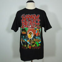NAPALM DEATH Mentally Murdered T-Shirt Black Men's size M (NEW)