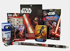 STAR WARS Toy Play Pack Grab & Go, stickers Puzzles Lrg Pencil Sharpener