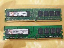 2GB Hynix (2x 1gb)  DDR2 PC2 - KTD-DM8400A/1G  MEMORY RAM DIMM DESKTOP 240 1.8v