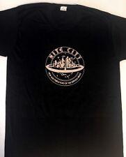 Vintage NITE CITY Promo T - SHIRT - DOORS - MANZAREK - 1978 LG
