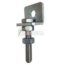 Staffa per motore tubolare per tapparella modello con vite M10 ad elle 10X10 mm