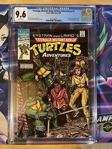 Teenage Mutant Ninja Turtles Adventures #1 CGC 9.6 1st Krang, Bebop & Rocksteady