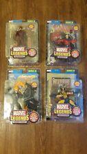Marvel Legends Series III 3- Ghost Rider, Wolverine, Daredevil, & Magneto