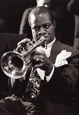 Louis Armstrong Poster, Satchmo, Playing the Trumpet, Jazz Singer & Musician