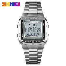 Skmei военные спортивные часы электронные мужские часы светодиодный цифровой будильник наручные часы