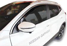 SET 2 DEFLETTORI ARIA  ANTITURBO per NISSAN QASHQAI II J11 5 PORTE 2014-2018