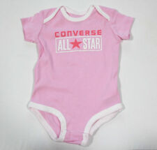 NUEVO All Star Converse Bebé Niña Niñas BODY ROSA gr.6-9monate 70-75cm 18