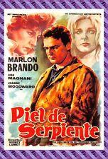 Postcard Poster Film - Piel de Serpiente