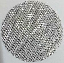 10X Stainless Steel Metal Screens Pipe Filter 60 Mesh 3/4in 20mm 60 Mesh