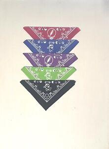 GRATEFUL DEAD-GOOD OL GD-5-Assrtd Colors-Green,Purple,Red,Blue,Black BANDAN