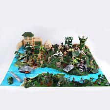 300 Pcs Military Soldier Playset Army Men Combat Model Action Figures Toy Set