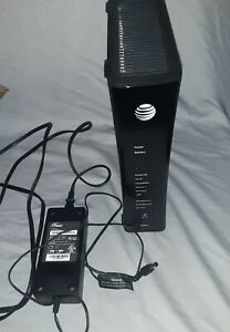 AT&T U-VERSE 5268AC  Wi-Fi GATEWAY Ethernet DSL MODEM ROUTER With Power Supply