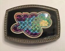 Vintage 1977 CPI YES Holographic Belt Buckle