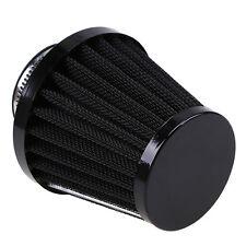 48mm Black Engine Motorcycle Inlet Air Filter Mesh UK Cleaner Intake Cone Repair