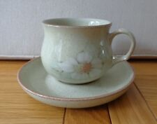 Denby Tea Cup and Saucer, Daybreak Design,