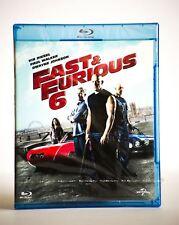 Fast & Furious 6 Blu-Ray Action Region B New