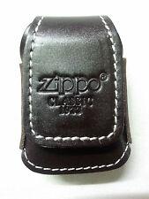 Lighter Case Brown Leather Belt Hoop for lighter