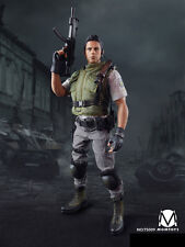 MOMTOYS NO.TS009 Chris Redfield S.T.A.R.S. Full Sets Male Action Figure 1/6th