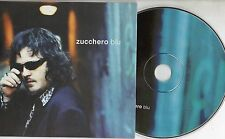 ZUCCHERO CD single 2 TRACCE PROMO cardsleeve BLU 1998