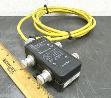 Allen Bradley 1485P-P4R5-C2-M5 Device Port Device Net Junction Box Used