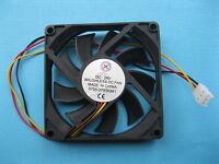 1 pcs Brushless DC Cooling Fan 24V 8015S 9 Blades 80x80x15mm 3pin Sleeve-bearing