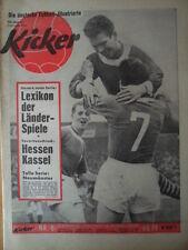 KICKER 8-25.2. 1963 * Hessen Kassel Düsseldorf-Gladbach 2:1 Schalke-SW Essen 3:2